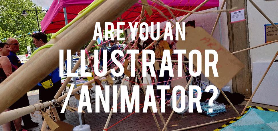 We need a freelance illustrator / animator